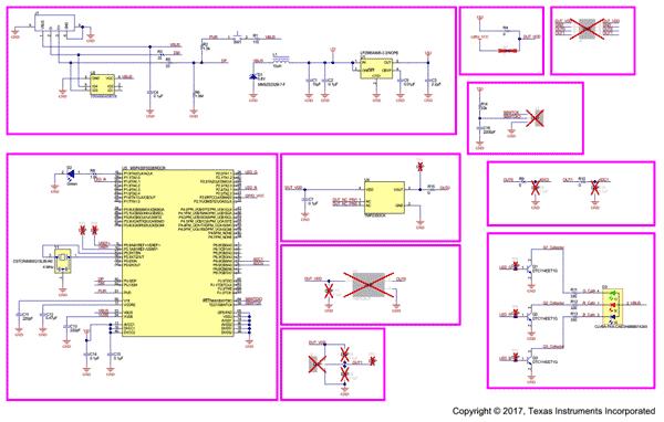Схема принципиальная электрическая TMP235EVM