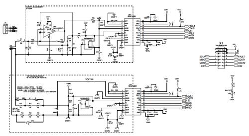 Схема принципиальная электрическая периферийного модуля MAX14001PMB