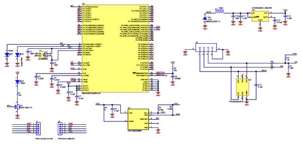 Схема принципиальная электрическая HDC2080EVM