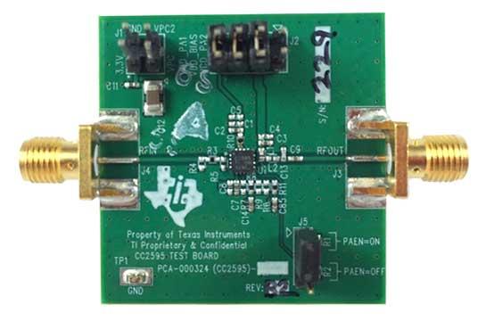 Оценочный модуль CC2595EVM