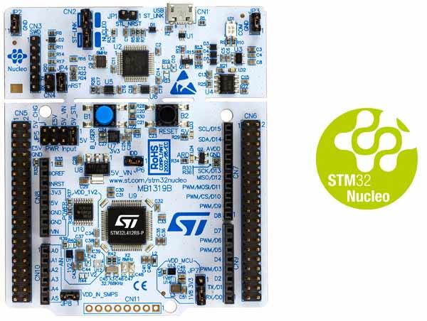 Отладочная плата NUCLEO-L412RB-P