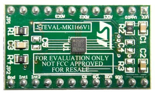 Оценочная плата STEVAL-MKI166V1