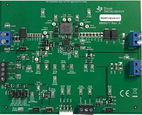 Оценочный модуль BQ25713EVM-017