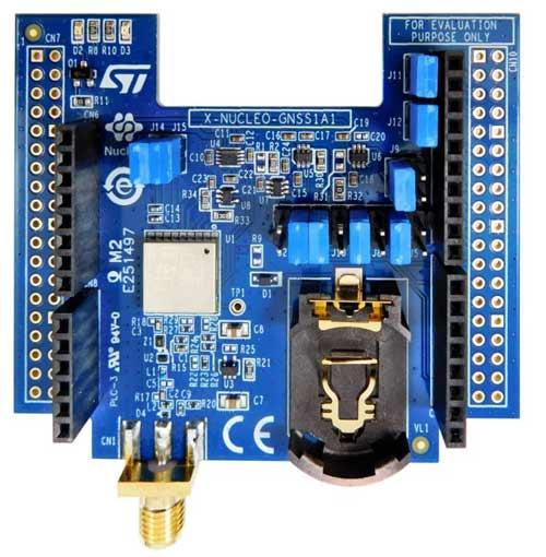 Плата расширения X-NUCLEO-GNSS1A1
