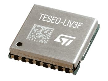 GNSS модуль Teseo-LIV3F