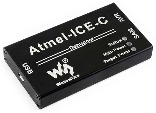 Программатор/ отладчик ATMEL-ICE-C. Общий вид
