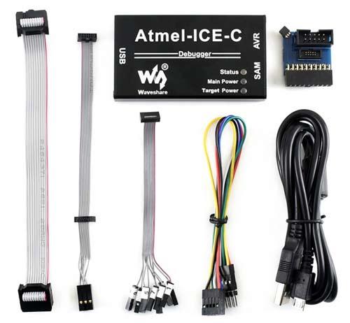Программатор/ отладчик ATMEL-ICE-C. Комплектация