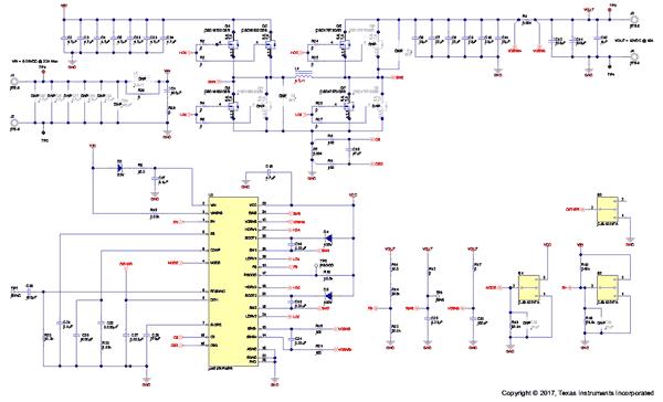 Схема принципиальная электрическая модуля LM5176EVM-HP