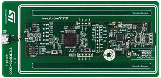 Плата ST25R3911B-DISCO