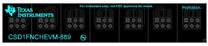 Нижний слой платы CSD1FNCHEVM-889