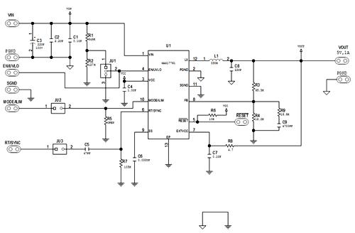 Функциональная схема чипа MAX17761