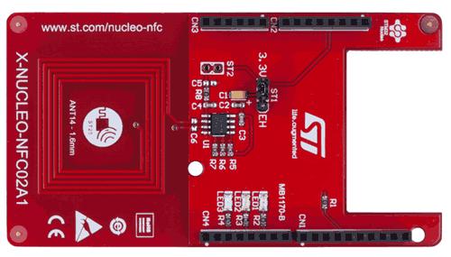 Плата расширения X-NUCLEO-NFC02A1