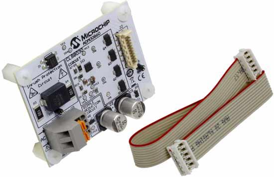 Оценочная плата ADM00860 и кабель для подключения светодиодной нагрузки