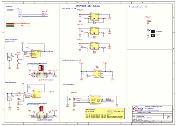 Схема принципиальная электрическая платы S2GOMEMSMICIM69DTOBO1
