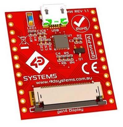 Программирующий адаптер GEN4-PA. Общий вид