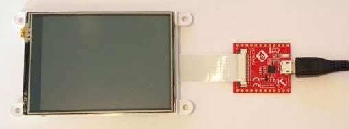 Типичное подключение gen4 дисплейного модуля к GEN4-PAи кабелю USB (приобретается отдельно)