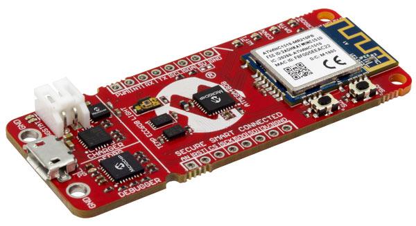 Отладочная плата AC164160 (AVR IoT WG)