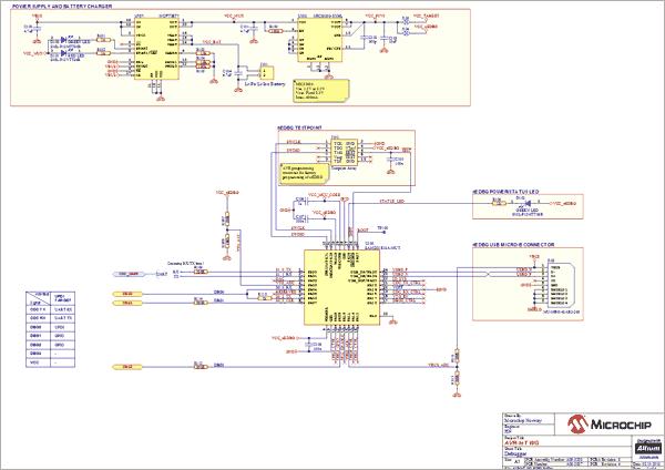Функциональное назначение компонентов платы и контактов шины microBUS