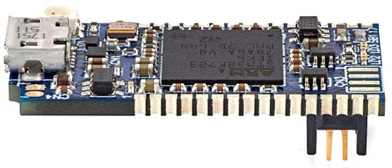 Программатор/ отладчик STLINK-V3MINI. Общий вид