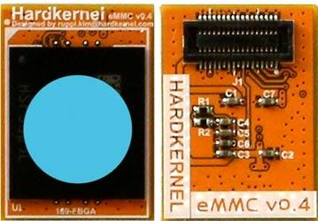 Общий вид модуля памяти eMMC
