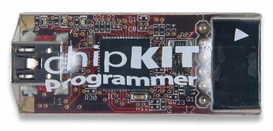 Программатор/ отладчик ChipKIT PGM (410-242). Вид сверху