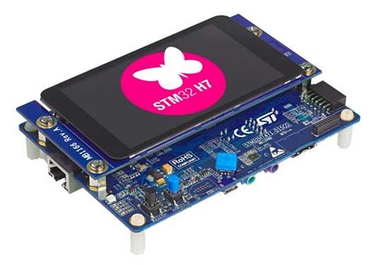 Демонстрационно-оценочная платформа STM32H747I-DISCO