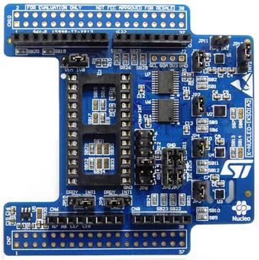 Плата расширения X-NUCLEO-IKS01A2 для оценки MEMS-датчиков движения и датчиков окружающей среды для STM32 NUCLEO