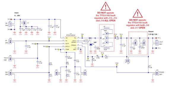 Схема принципиальная электрическая TI-PMLK TPS54160