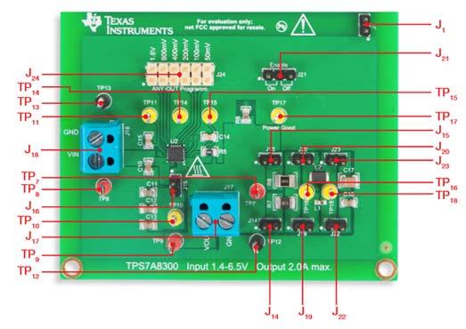 Секция TI-PMLK TPS7A8300 LDO