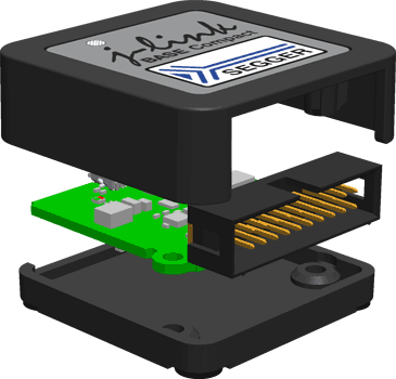 Плата и корпус изделия J-Link BASE Compact