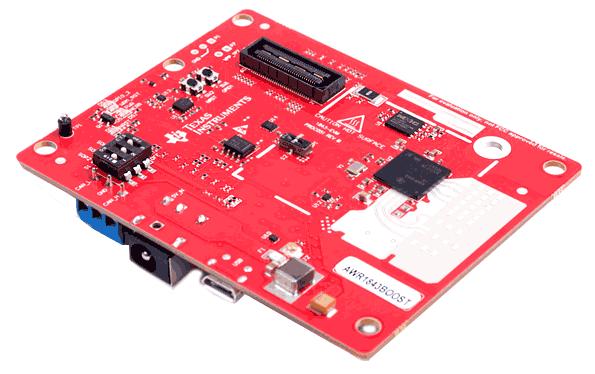 Оценочный модуль AWR1843BOOST. Общий вид