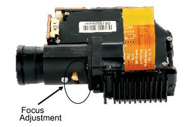 Оптический модуль с регулировкой фокуса