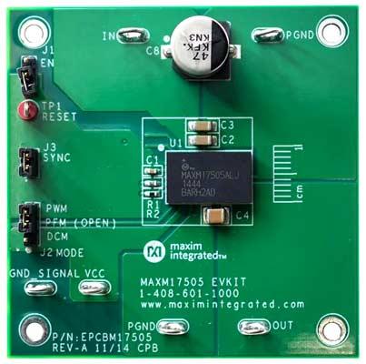 Оценочный модуль MAXM17505EVKIT#