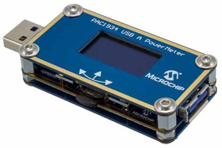 Измеритель мощности и энергии ADM00974. Общий вид.
