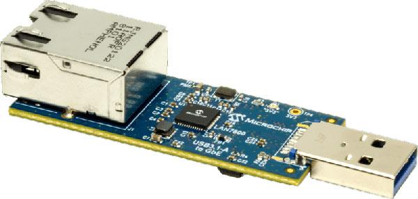 Оценочный модуль EVB-LAN7800LC-1