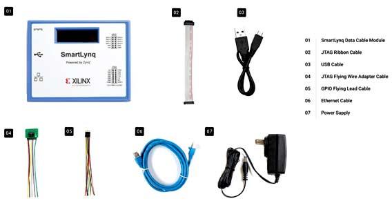 Состав комплекта HW-SMARTLYNQ-G (SmartLynq Data Cable)  Отличительные особенности: