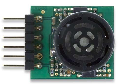 Ультразвуковой дальномер Digilent Pmod MAXSONAR (240-071). Вид сверху