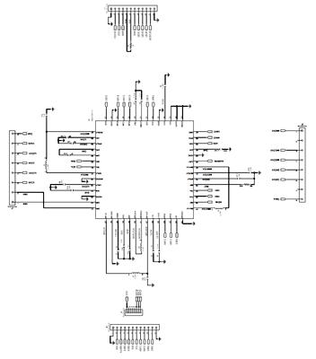 Схема принципиальная электрическая платы MAX20303EVKIT#