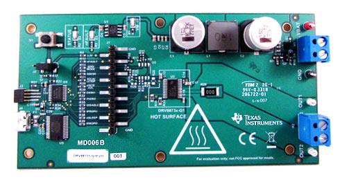 Оценочный модуль DRV8873H-Q1EVM