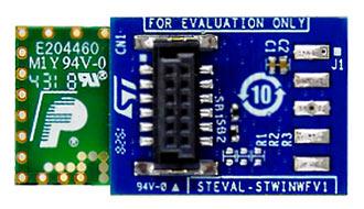 Плата Wi-Fi расширения STEVAL-STWINWFV1 для беспроводного индустриального узла SensorTile