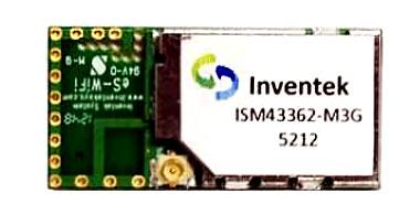 Wi-Fi модуля Inventek ISM43362-M3G