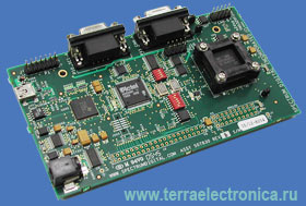 Отладочная плата с сокетом TMDSEZS2808-0E для процессора TMS320F2808