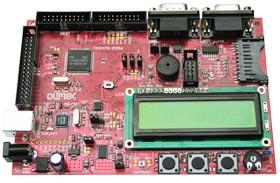 Отладочная плата для разработки систем на базе микроконтроллера с ядром ARM7 от TEXAS INSTRUMENTS