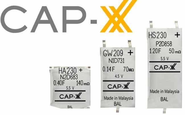 Суперконденсаторы от CAP-XX