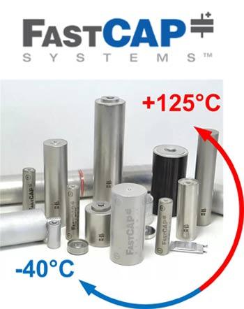 Суперконденсаторы от FastCAP