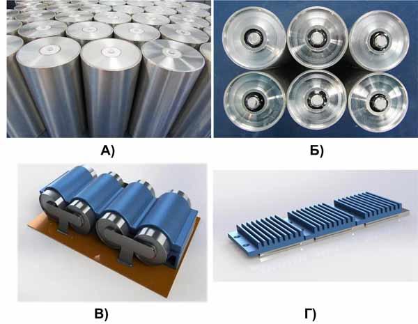 Внешний вид различных серий суперконденсаторов от FastCAP