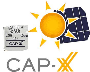 Сверхтонкие суперконденсаторы от CAP-XX