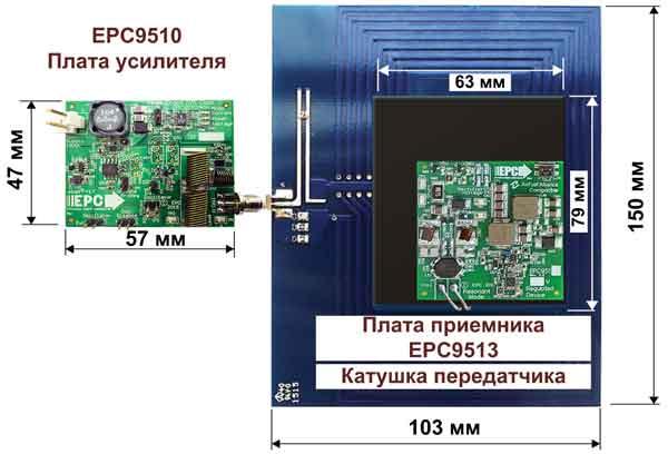 Отладочный набор EPC9127 от EPC