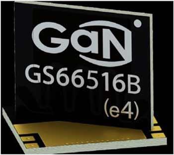 Габаритные размеры корпуса GS66516B составляют 11x9 мм