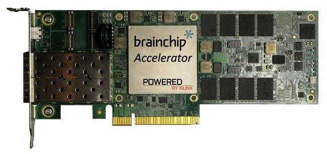 Ускоритель нейронных вычислений BrainChip Accelerator